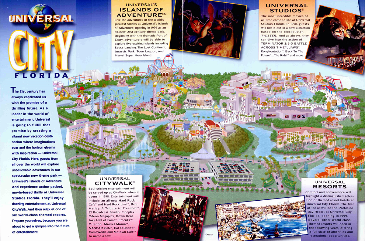 an overview of the birth of the modern theme park At universal studios florida you're the star so be prepared to experience one jaw-dropping adventure after behind the scenes and jump into the action of your favorite films at the world's premier movie and tv based theme park universal orlando resort english english english: united.