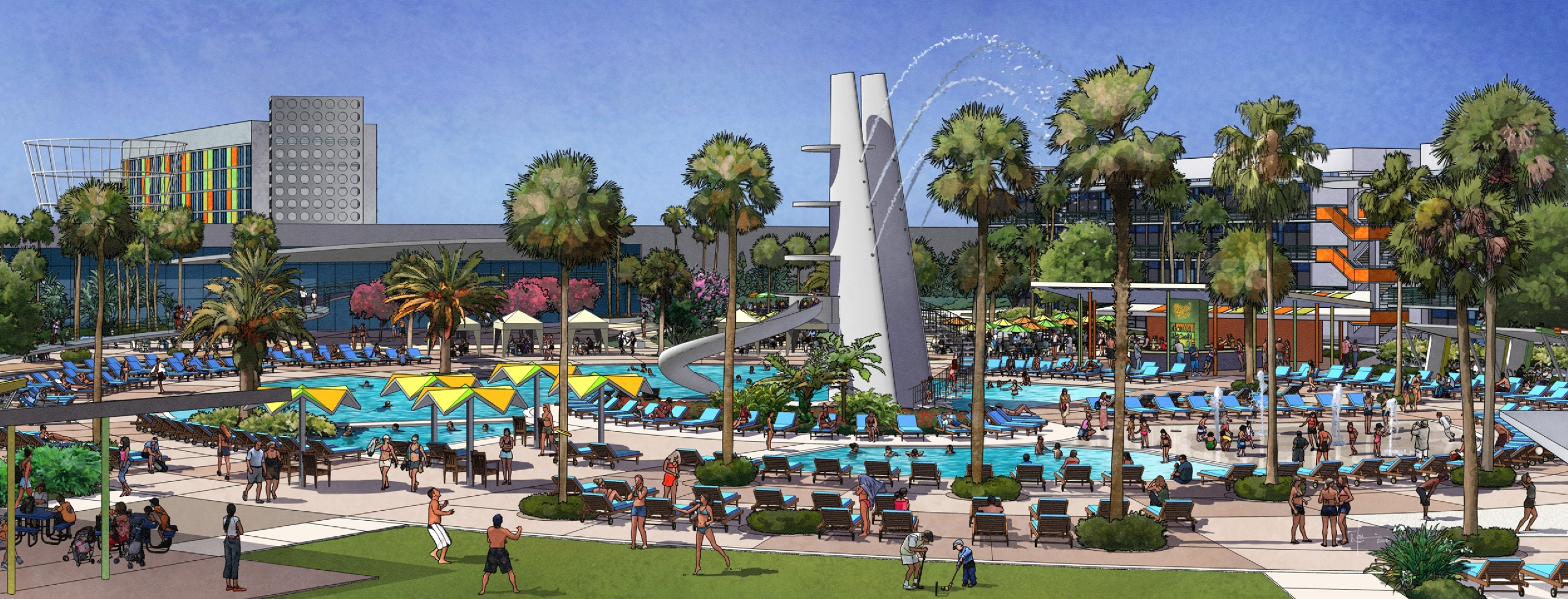 First Look at Cabana Bay Resort Layout – ParkRumors.com on